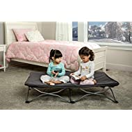 Regalo My Cot Portable Travel Bed, Grey, Includes Fitted Sheet and Travel Case