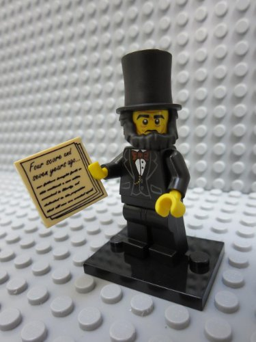 Buy lego lincoln minifigure