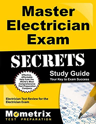 master electrician exam secrets study guide electrician test review rh amazon com Electrical Apprenticeship Practice Test California Electrician Exam Study Guide