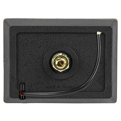 Blazer B423A Rectangular Clearance / Side Marker Light with Reflex, Amber: Automotive