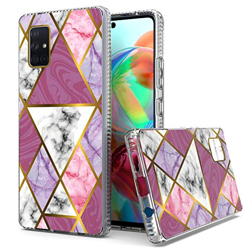 KWEICASE Cell Phone Case for Samsung Galaxy A71 5G(Not for 4G & UW), Samsung A71 5G Case, Shockprock Bumper Heavy Duty…