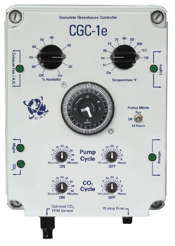 Hydrofarm Custom Automated Products, CACGC1, Complete Greenhouse Controller (w/ppm Option)