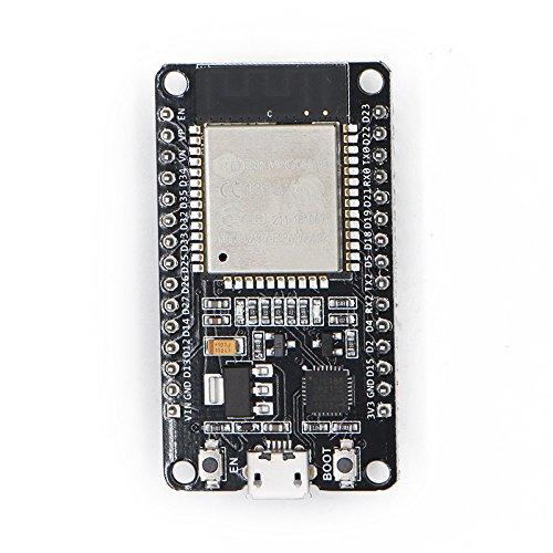 Xiuxin 2pcs ESP32 Development Board 2.4GHz Dual-Mode WiFi + Bluetooth Dual Cores ESP32s Antenna module board for Arduino IDE,Work with Amazon Alexa by Xiuxin (Image #1)