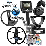 Spectra V3i Whites Metal Detector Summer Bundle with 13' Detech Coil