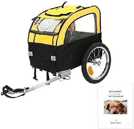 Remolque para bicicleta de perro perros pequeños Puppys hasta 25 ...