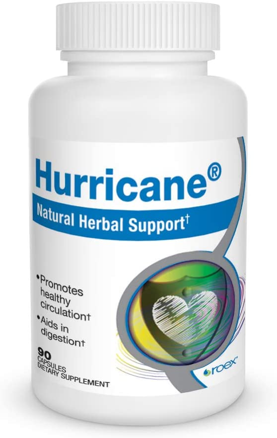 Roex Hurricane Dietary Supplements, 90 Count