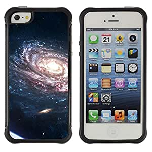 SHIMIN CAO@ Spiraling Galaxy Purple Planets Bright Light Universe Rugged Hybrid Armor Slim Protection Case Cover Shell For iphone 5S CASE Cover ,iphone 5 5S case,iphone5S plus cover ,Cases for iphone 5 5S
