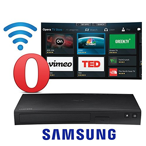 Samsung BD-J5900 Curved 3D Blu-ray Player with Wi-Fi (2015 Model)