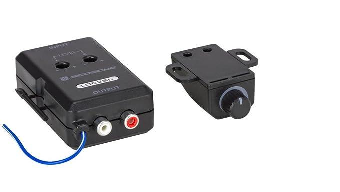 Art Line Level Converter : Amazon.com: scosche loc2sl car stereo 2 channel adjustable amplifier