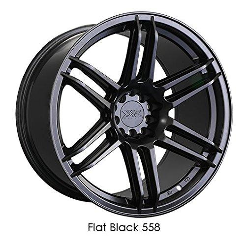 XXR Wheels XXR 558 Flat Black Wheel (16x8/4x4.5, +20 Offset)
