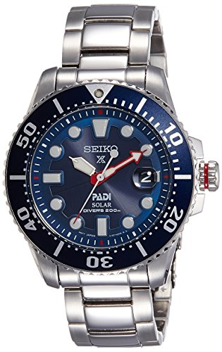 Seiko Prospex Padi Solar SNE435P1 (Seiko Watches For Men Ssc)