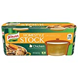 Knorr Homestyle Stock Concentrated Broth, Chicken 4.66 oz, 4 ct (Pack of 4)