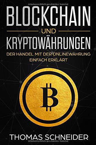 Buch Blockchain & Kryptowährungen
