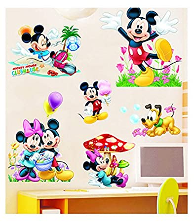 PINDIA DÉCOR 3D MICKEY MOUSE U0026 CHARACTERS WALL STICKER Part 79