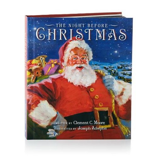 Hallmark The Night Before Christmas Recordable Storybook Recordable Storybooks Santa Claus Juvenile Fiction