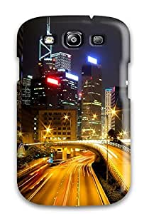Galaxy S3 Case Cover With Shock Absorbent Protective VPzbAzL7503SJIop Case