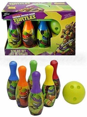 ninja turtles bowling set - 8