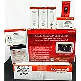 Honeywell Vista 21IP, Tuxedo Wifi Keypad, (3) 5816WMWH, 5800PIR-RES, 5834-4, Battery and Siren Kit Package