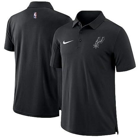 Nike - Polo de la NBA San Antonio Spurs (Talla XL), Color Negro ...