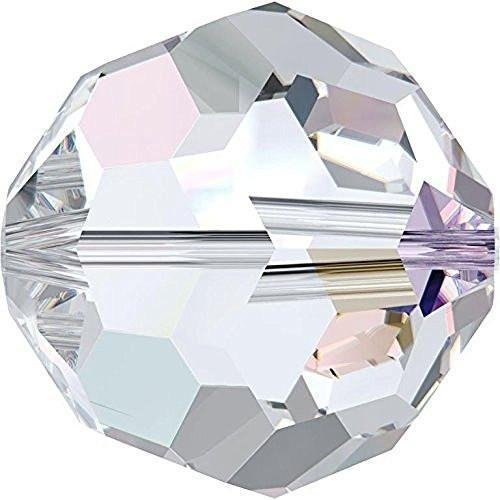 5000 Swarovski Crystal Beads Round Crystal AB | 2mm - Pack of 25 | Small & Wholesale Packs
