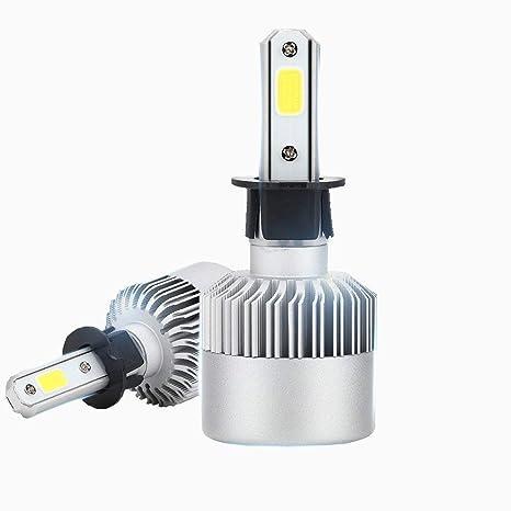 Diesel Auto Zone H3 Led bombillas para faros delanteros Kit de conversión 80 W 8000LM 6000 ...