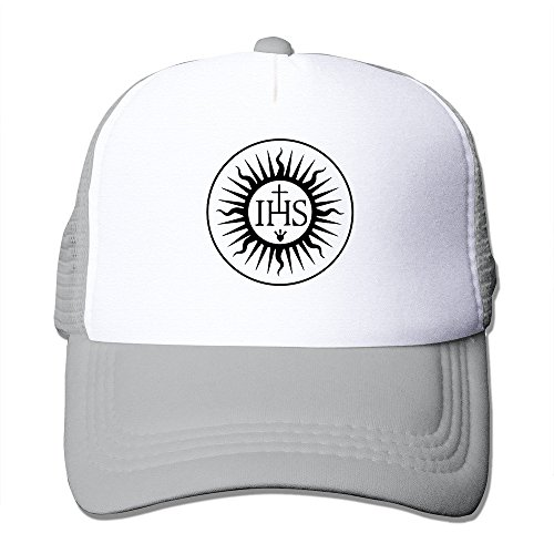 WZN Roman Catholic Cross Symbol Jesuit Sun Symbol Hats With Ash ()