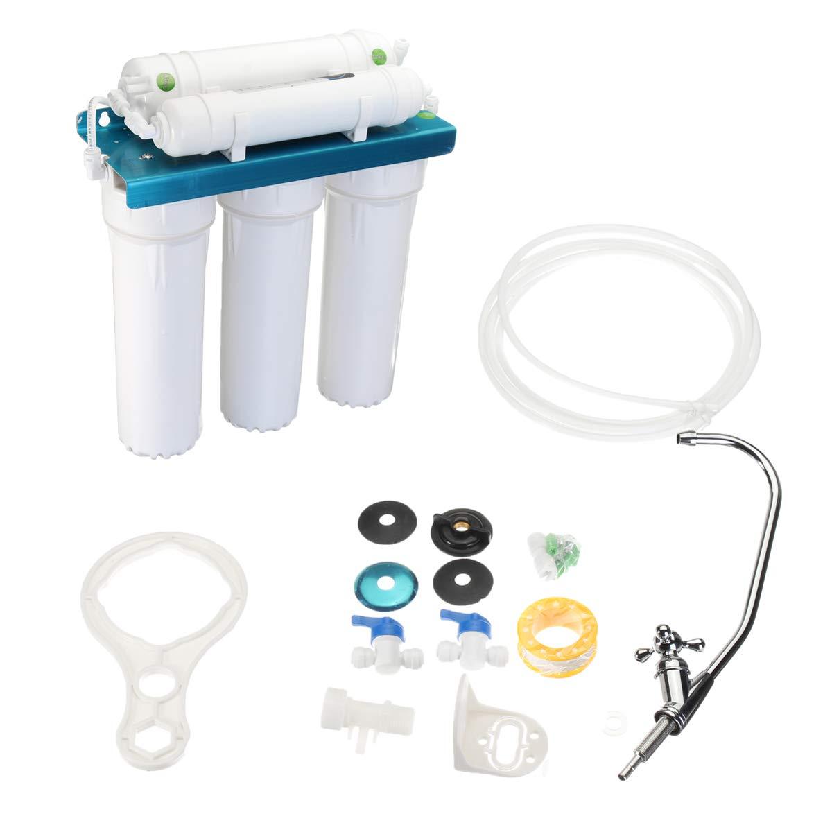 ChaRLes 5-Stufen-Wasserreiniger umkehren Osmose-Filtration Trinkwasser