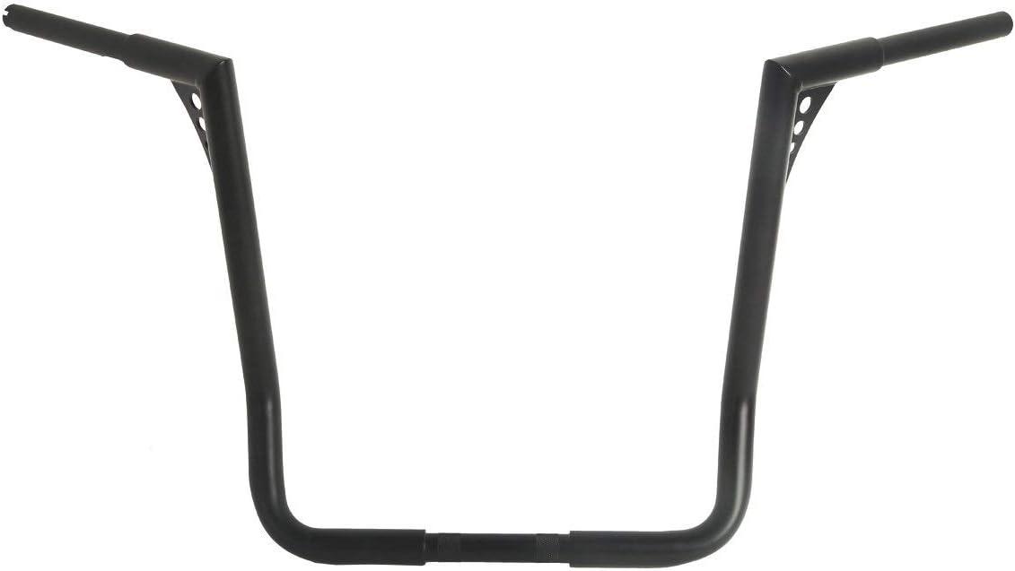 TCMT 1-1//4 18 Devil APE Bars Black Handlebars Fits For Harley Touring FLHT FLHTC 82-16 Dressers Baggers