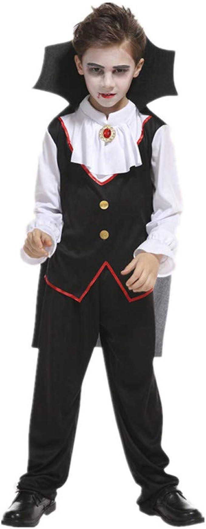 Halloween 3er Kostuem.3er Halloween Cosplay Kostum Mantel Outfits Set Tops Pants Umhang Black 10jahre Amazon De Bekleidung