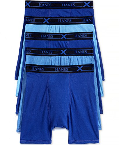 Hanes Men's X-Temp Boxer Briefs 5-Pack +1 Extra Bonus Boxer Brief XL - Hanes Mall