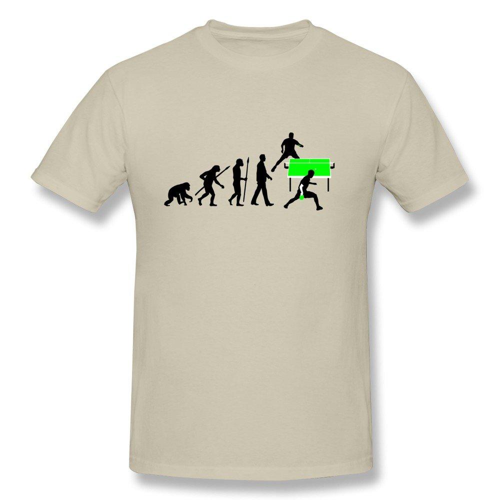 WSB Men's T-shirt Evolution Table Tennis Orange