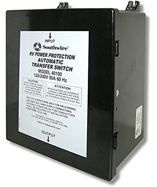 Arterra Distribution T-57 Automatic Transfer Switch 50A