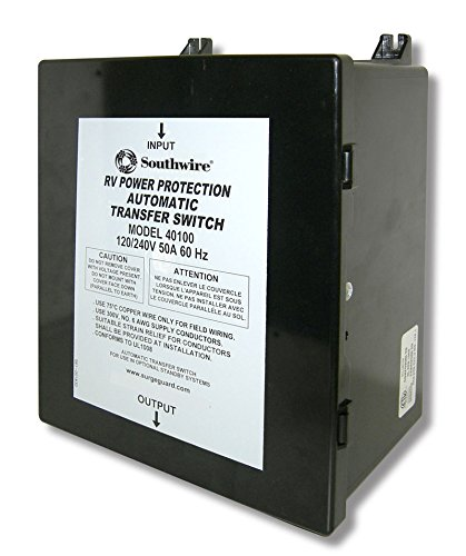 Surge Guard 40100 Basic Automatic Transfer Switch - 50 Amp (50a Transfer Generator Switch)