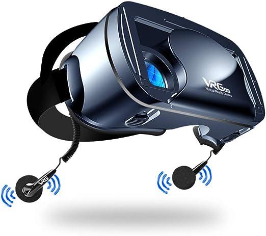 MaiTian Auriculares VR, Auriculares de Realidad Virtual HD W/Botón ...