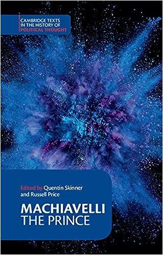 machiavelli political thought pdf