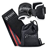 Resistance Hip Band and Ankle Straps for Cable Machines Set: With Hip Band, 2 Cable Leg Straps and Carry Bag – Pro-Grade Non-Slip – Perfect Multi Exercise Lower Body Workout for Men and Women: Medium Review