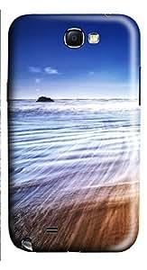 Samsung Note 2 Case Beach Waves 48 3D Custom Samsung Note 2 Case Cover WANGJING JINDA