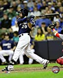 "Jonathan Lucroy Milwaukee Brewers 2016 MLB Action Photo (Size: 8"" x 10"")"