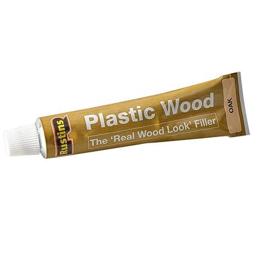 Rustins 5015332220069 Plastic Wood - Oak