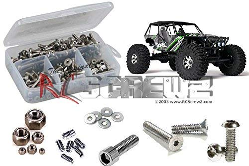 RCScrewZ Axial Racing Wraith RTR / Pro Stainless Steel Screw Kit - axi004 - for Axial Kit AX90018