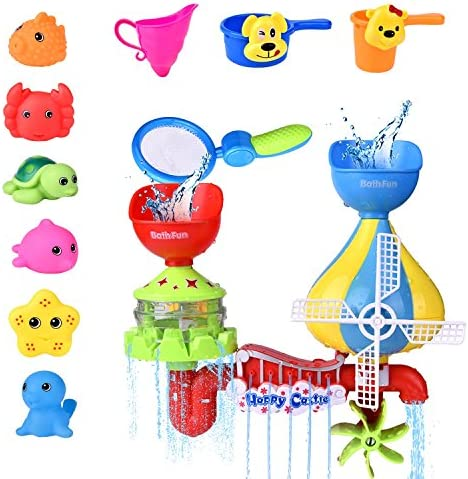 Toddler Windmill Waterfall Squirter Stackable