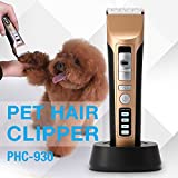 Electric Grooming Clippers PETFLY Rechargeable Cordless Clippers Kit for Pets Dog Cat