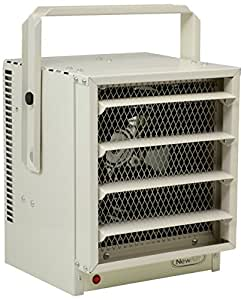 NewAir G73 Hardwired Electric Garage Heater, Heats up to 750 square feet
