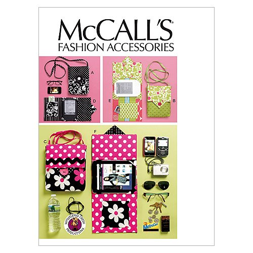 - McCall's Patterns M6477 Electronic Device Carrying Case in 2 Sizes and E-Reader Cover in 3 Sizes, One Size Only