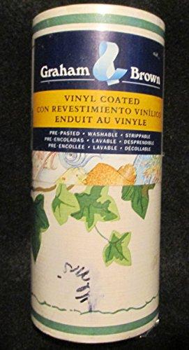 Graham & Brown Green Ivy Prepasted Vinyl Wallpaper Border ()