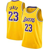 Basketball Jersey with Shorts Lakers 23 (James 23) Yellow Color