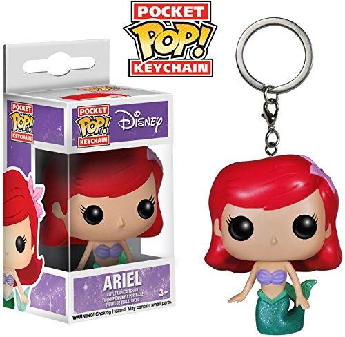 Amazon.com: Ariel: bolsillo Pop. Llavero X Disney La ...