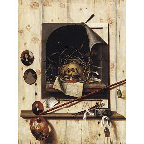 Gysbrechts Studio Wall Vanitas Still Life Trompe L