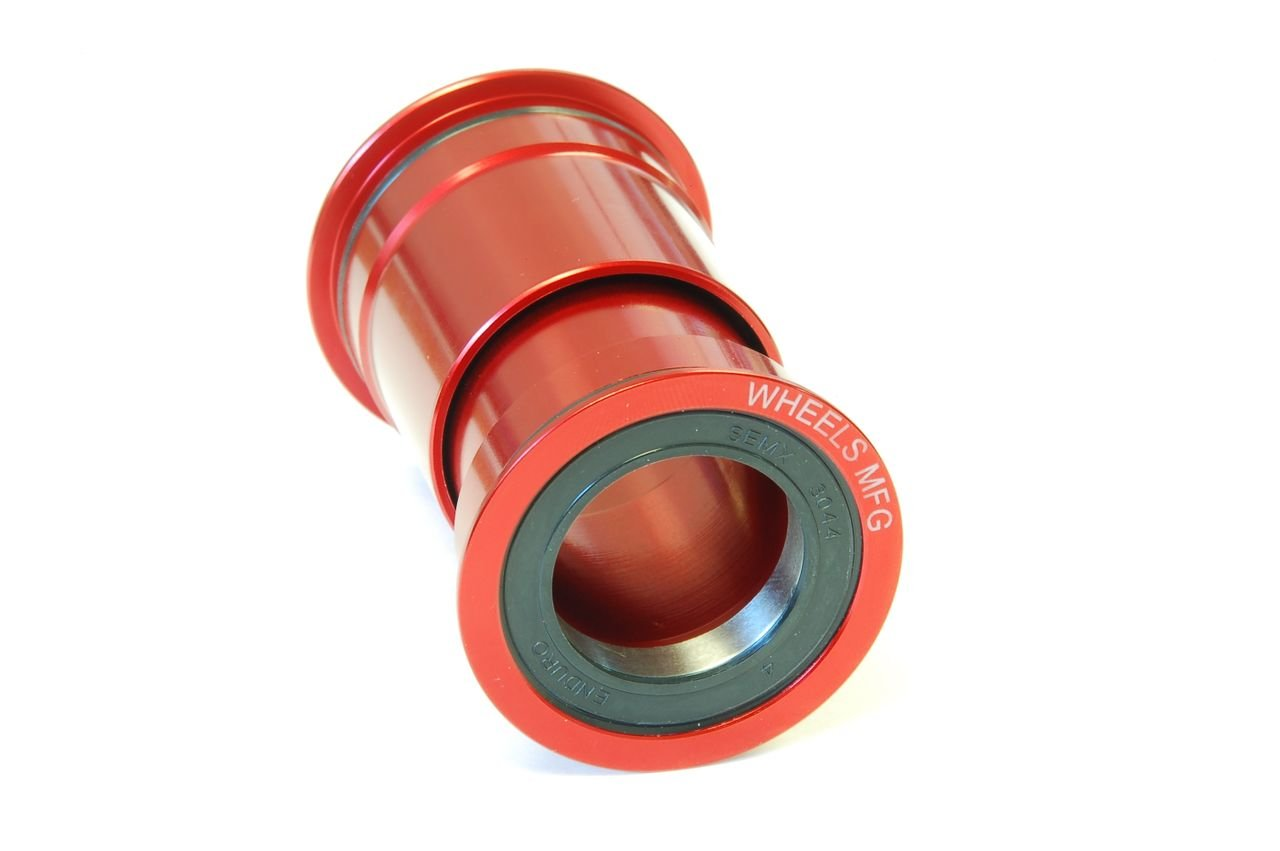 Wheels Manufacturing PressFit 30 Bottom Bracket with Angular Contact Bearings PF30-BB-AC