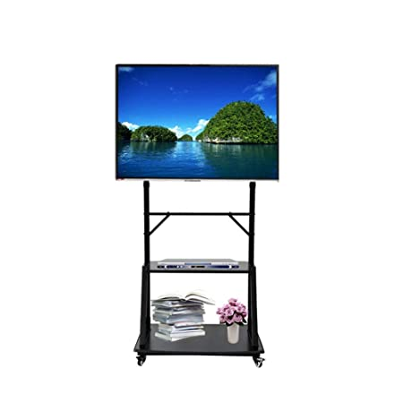 KBKG821 Rolling TV Stand Mobile TV Carro para Pantallas de Panel ...